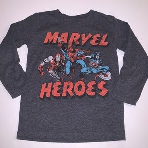 Jumping Beans Marvel Heroes Long Sleeve T-Shirt